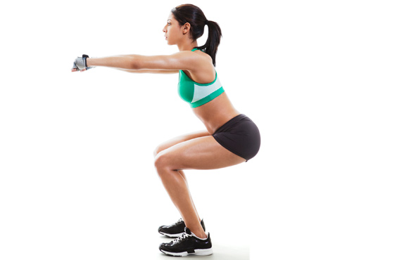 squats enroulés